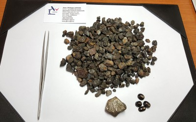 Black star sapphire, from Preah Vihear