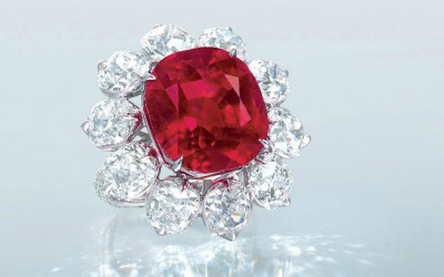 World Auction Record per Carat for a Ruby