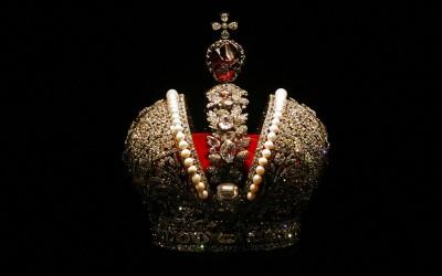 La grande corona imperiale dell'Impero russo