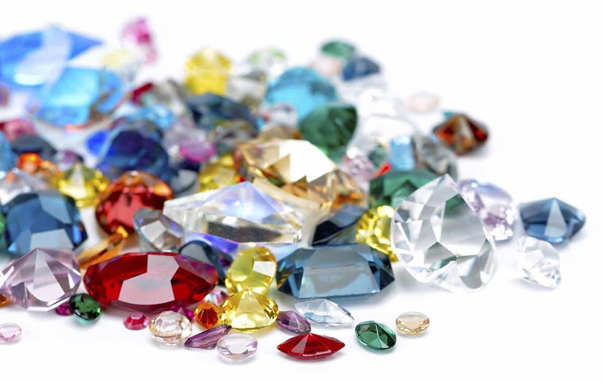 Precious and semi precious gemstones