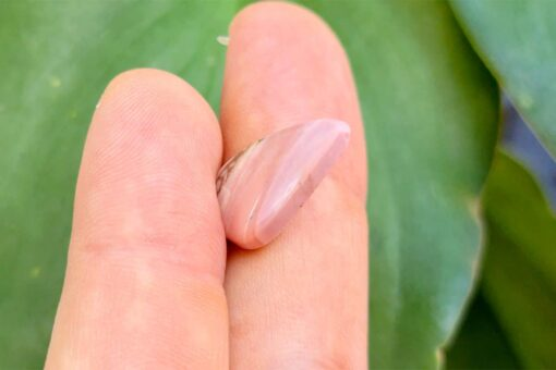 Pink brecciated Mookaite 6.01 ct