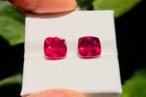 iruby pair 6.93 ct